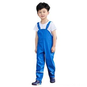 2019 Chidlren Jumpsuit Girls Boys Waterproof Overalls Kids Trousers Outdoor Pants Waterproof Trousers 110 Years