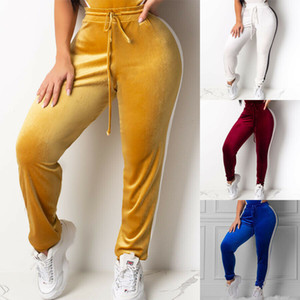 Women Yoga Fitness Leggings Running Workout Gym Stretch Sports Pants Trousers