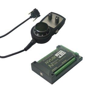 USB 인터페이스는 CNC 라우터 MACH3 핸드 휠 수동 펄스 CNC 모션 제어 카드를 3 축