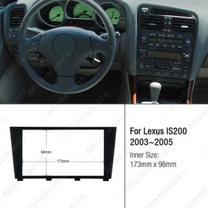 Car 2DIN Refitting Radio Stereo DVD Frame Fascia Dash Panel Installation Kits Conversion For Lexus IS200(2003~2005) #2839