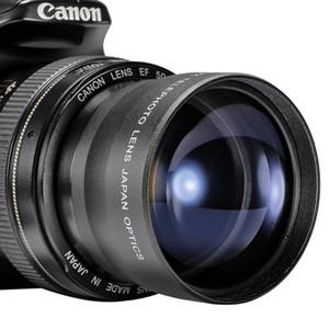 HD 72mm 2.2x Telephoto Lens + Lens Bag لكانون نيكون D7000 D7100 D7200 D7300 80D 90D D760 D850 D610 D3500 D5600 DSLR عدسة الكاميرا
