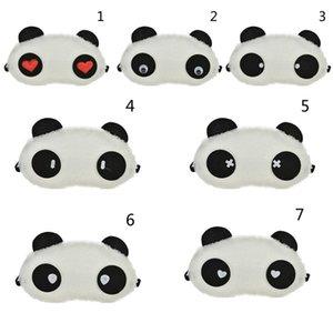 1pc Nap Eye Ombra Fumetto Blindfold Cute Panda Dormire Occhi Maschera sonno Occhi Copertura Dormire Resto di Viaggio Patch Blinder Multi Style C18122501