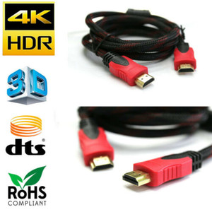 HDMI Cable Premium High Speed 1.4 Wire Bluray 3D DVD HDTV HD Gold Plated - LOT HDMI Cable 1.5m,3m,5m,10m,15m 3B17
