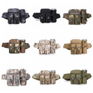 New 600D Nylon Tactical Multifunktions-Wasserkocher Tasche Armee Fan Freizeit Outdoor-Tasche Männer und Frauen Sporttasche Camouflage Reisetaschen JSH1512-1