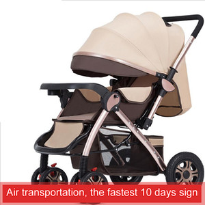 2019 new, high landscape , two-way implementation, can sit, can lie, suitable for newborn children's car