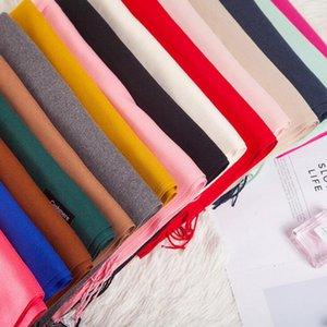 Solide Quaste Schals Kaschmir-Schal 16 Farben Pashmina Quasten Frauen-Winter-Klimaanlage-Verpackungs-Schal-Schal OOA7428-5