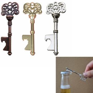 key Shaped Bottle Opener Keychain shaped zinc alloy Travel Outdoor Picnic Party Bar Tools Key Bottle Opener ZZA294
