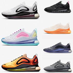 Top-Qualität 720 Designer-Schuhe totale Sonnenfinsternis Sonnenuntergang Nordlichter Tag Mens Womens Luxus Mond Rückfall zukünftige Laufschuhe 36-45