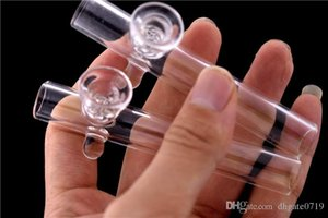 Alta qualità laboratori di vetro rullo compressore tubo di fumo mano Tubo per il tabacco secco Herb cucchiaio di vetro tubo di trasporto libero
