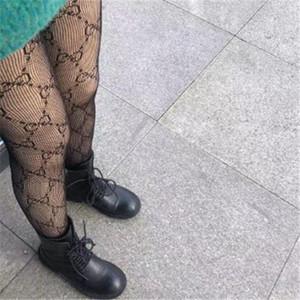 Black White Lace Mesh Tights Women Pantyhose Letters Sexy Thin Silk Stockings Fashion brand Female Tights Summer Ladies Long Leggings Socks