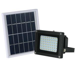 Projecteur LED extérieur Projecteur Flood Lumière solaire étanche professionnelle Powe lampe d'éclairage pour Landscape Garden Street