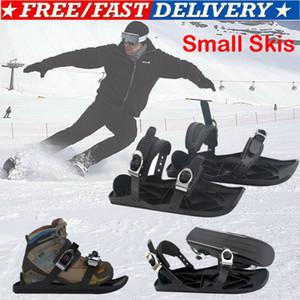 2020 New Mini Ski Skates Snow Short Skiboards Snowblades Bindings Snowfeet Skiing Shoes