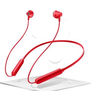 A10 Hot Magnet Esporte Headphones Neck-montado com fios estéreo impermeável fones de ouvido Earbuds Baixo Headset para Samsung smartphones com Retail Box