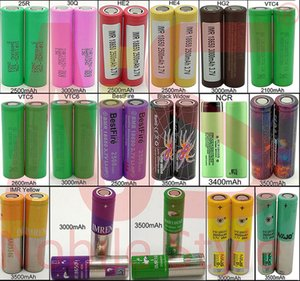 High Drain 18650 vape Battery Batteries 3500mah 35A Max Discharge Current HG2 25R VTC5 VTC4 VTC HE2 HE4 aWt MxjO E cig NCR imr