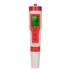 4 in 1 Dijital Su Kalitesi Test Kalem Tipi PH Metre Profesyonel Asitimetre pH / TDS / EC SICAKLIK Su Kalitesi Monitör