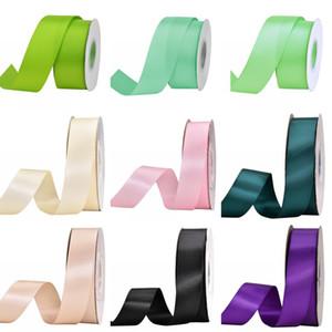 9 mm * 100 cour Rubans satin bricolage bowknot Paquet couture Accessoires gâteau cadeau main Wrap Party Décor cadeau de mariage