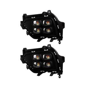 Luces de conducción diurnas de repuesto para Hyundai Sonata 2011 2012 2013 DRL Luz diurna LED con luz de señal de giro Estilo de automóvil