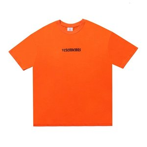 Spring Summer 2020 Luxury Vetements Back Logo Priority Mail Express Patch oversize Tshirt Fashion Men Women T Shirt Casual Cotton Tee