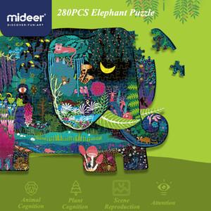 어린이 종이 교육 장난감 어린이를위한 Mideer 280PCS 퍼즐 장난감 동물 대화 형 장난감 3 세 CX200605 퍼즐