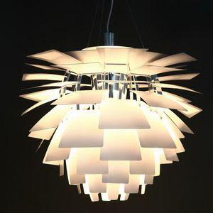 lâmpada Nordic Modern Pendant Light Dinamarca Creative Design Sala de Jantar sala PH alumínio Restaurante alcachofra Lamp 60 centímetros derrubado