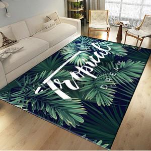 Style Nordique Tropical Vert Plantes Animal Feuilles Tapis Tapisserie Couverture Serviette De Plage De Yoga Mur Tapisserie Tenture