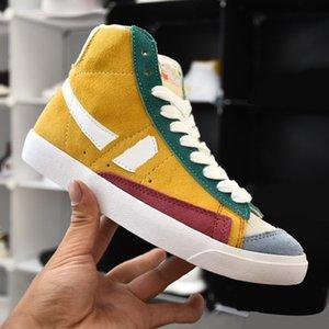 Designer Schuhe Hightop Sneakers Komfortable Leinwandschuhe Frauen und Männer KPOP Mode Schuhe Plattform Zapatos Golden