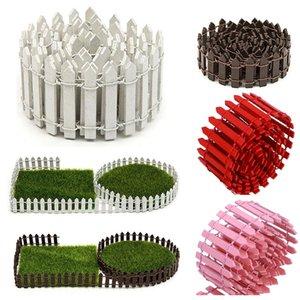 WINOMO 100cmx5cm Mini Kleine Holz-Zaun DIY Puppenhaus-Fee Garten Micro Blumentopf Dekor Bonsai Terrarium Ornament Miniatur