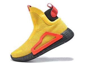 Zach Lavine kara bulut beyaz asal örgü ayakkabıları Donovan Mitchell 40-46 sneaker 2019 yeni n3xt l3v3l Örümcek basketbol ayakkabıları