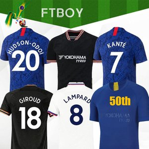 Tayland PULISIC Kanté İBRAHİM LAMPARD Odoi WILLAN futbol forması 2019 2020 MOUNT Camiseta futbol takımları gömlek de 19 20 ERKEK ÇOCUK TAKIMLARI