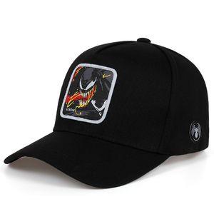 2019 new Venom Embroidered Baseball Cap High quality fashion cotton hat Hip hop street hats Outdoor fashion golf caps