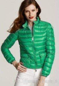 Brande 2020 Frauen-Winter 90% weiße Ente unten Jacken-Entwerfer-Dame Reißverschluss-Kurzschluss mit Kapuze Winter-Oberbekleidung warmen Mantel XS-3XL