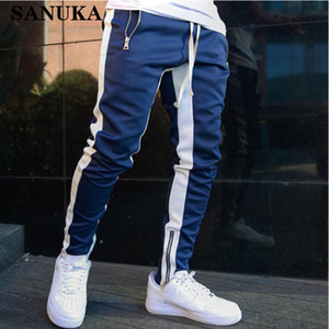 Hot Mens Joggers Casual Pants Fitness Men Sportswear Tracksuit Bottoms Skinny Sweatpants Trousers Black Gyms Jogger Track Pants