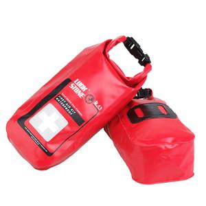 Открытый портативный 2L первой помощи вещи мешки водонепроницаемый кемпинг путешествия выживания пакеты альпинизм чрезвычайных медицинских продуктов сумки для хранения