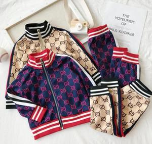 Moda Primavera Abbigliamento per bambini di alta qualità tessuto Coreano portare Maglione Twinset cotone piccolo e Medio Maschio Ragazza Vestito Dei Bambini