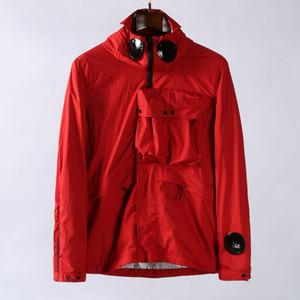 Topstoney 2020SSs CP konng gonng incappucciato casuale azienda di moda cappotto occhiali autunno primavera ed europeo e giacca sottile uomini americani di strada