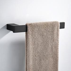 Полотенцедержатель Black Square 304 Полотенцесушитель из нержавеющей стали Кольцо для ванной комнаты Держатель для полотенец на стене