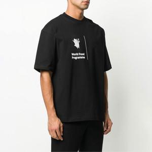 Verão do estilista camisetas para homens Tops Carta Imprimir T Shirt Mens Mulheres Roupa Manga Curta T-shirt Men Tees Black White