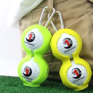 New Silicone Protective Cover Club Sets Golf Ball Protective Accessories Can Be Hung on The Belt Other Golf Products