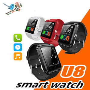 Smartwatch bluetooth u8 u assista smart watch relógios de pulso para iphone 4 4s 5 5s samsung s4 s5 nota 2 nota 3 htc android telefone smartphones
