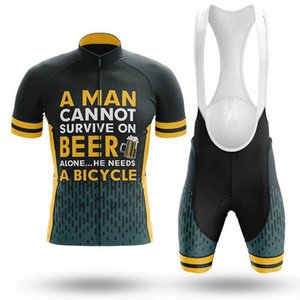 LairschDan 2020 Fiets Kleding Mannen Summer Short Sleeve Set Jersey and Bib Shorts Breathable MTB Clothing niño