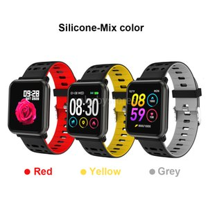 Newest Waterproof Wristband 2019 Ep11 Smart Watch Fitness Tracker Heart Rate Blood Pressure Sleep Pk N88 Smartwatch With Retail Packing