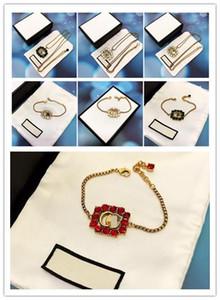 braccialetti del diamante delle donne del progettista designer di gioielli di lusso gioielli piazza alfabeto moda su misura