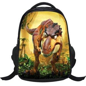 İlköğretim Okulu Öğrencileri Backpack için Yeni Stil Dinozor Serisi Çocuk Karikatür Çanta 1-3-4 Sınıf Park Dinosaur Schoolbag