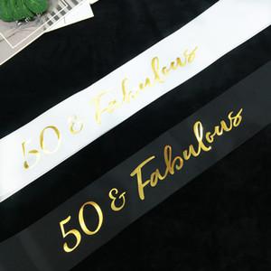 Écharpes Dorure Monocouche Dorure Nouveau Style Créatif Bandoulière 50 Ans Fabuleux Étiquette Ceinture Usine Vente Directe 3rkb p1