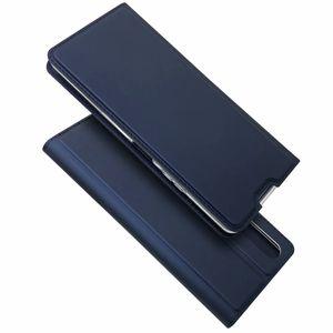 Para Sony Xperia 1 II / Sony Xperia 10 II Casos Carteira Magnetic PU Couro Kickstand Protective Xperia L4 tampa do telefone
