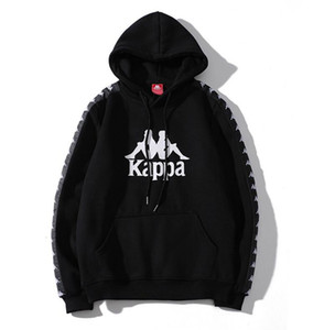 113 Herrenbekleidung Herbst Neuankömmling Schwarz Weiß Terry Sweatshirt Lovers Loose Trackshirt Fashion Brand Letters Herren Damen Hoodie