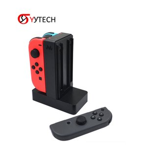 SYYTECH 2019 New Hot Selling 4in 1 charger dock charging stand station pile for Nintendo Switch controllers