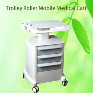 New Professional Trolley Roller Mobile Medical Cart with drawers Assembled Stand Holder for Beauty Salon SPA HIFU Machine