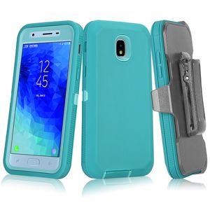Hibrid Sert Tutucu Telefon Kılıfı Kemer Klip Siyah Defender Kapak Shell iPhone 12 11 Pro Max Galaxy S20 Not 10 Artı S10 5G S10E S8 S9