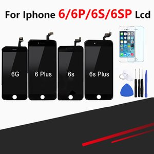 Touch Screen di qualità superiore al dettaglio per iPhone 6 6 Plus 6s 6s Plus Display LCD Pantalla Assembly Digitizer Replacement + Strumenti gratuiti